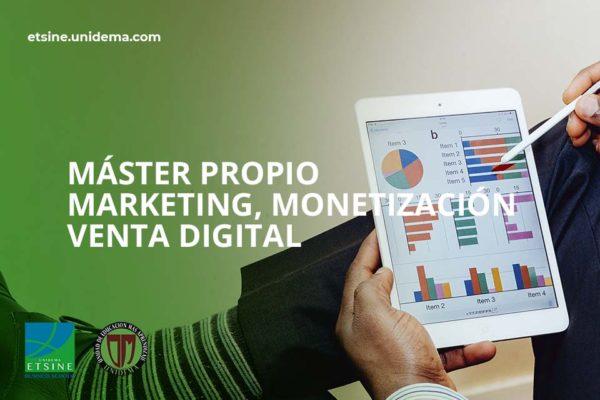 Curso Máster en Marketing, Monetización y Venta Digital