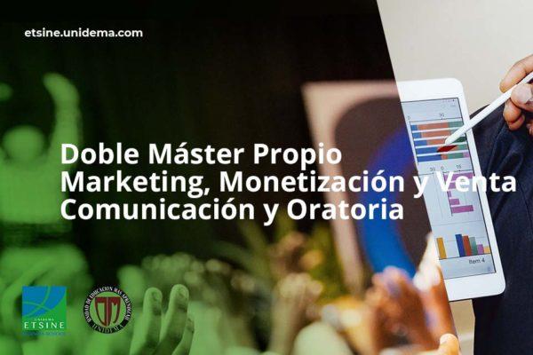 doble curso master marketing y comunicación y oratoria